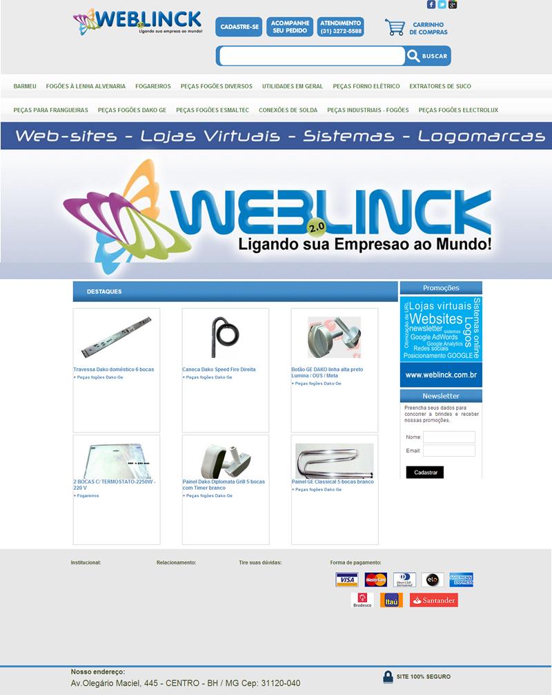 Loja Modelo 1 Abilio machado, lojas virtuais grátis Bh, Alipio de melo comercio, Portal Abilio machado, weblinck, desenvolvimento de sites em bh
