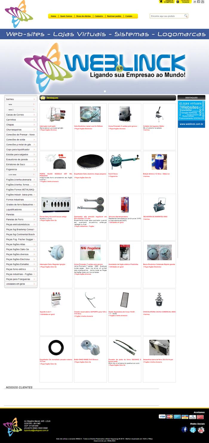 Loja Modelo 2 Abilio machado, lojas virtuais grátis Bh, Alipio de melo comercio, Portal Abilio machado, weblinck, desenvolvimento de sites em bh