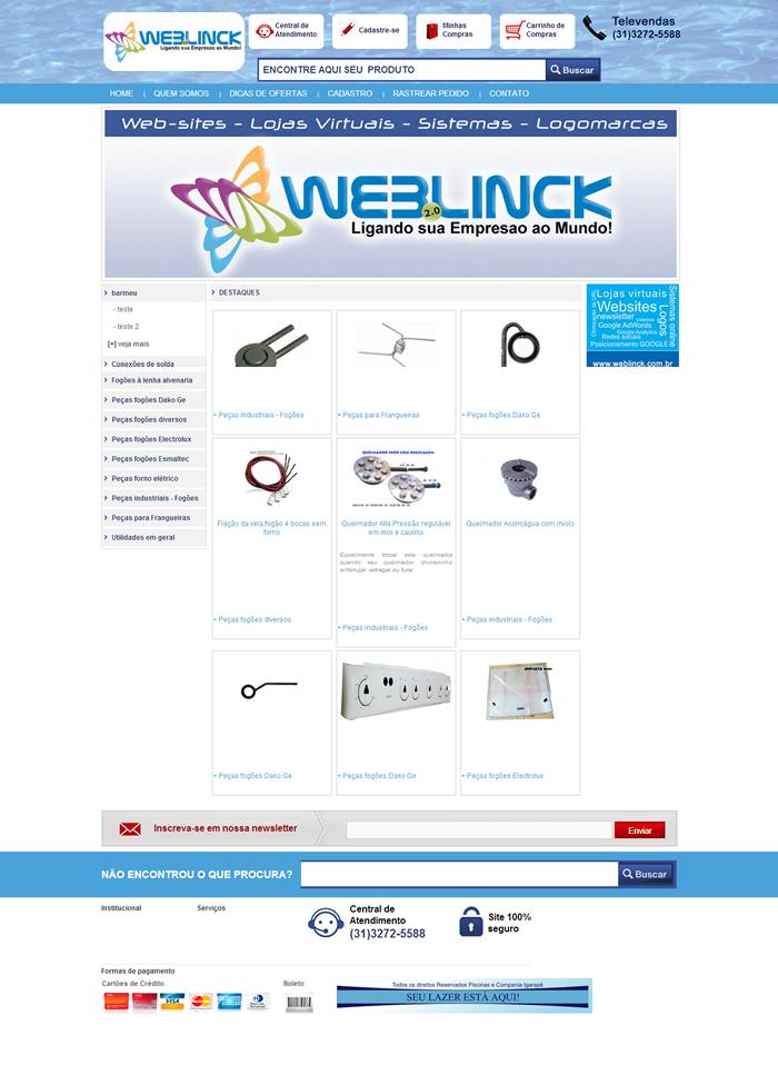 Loja Modelo 5 Abilio machado, lojas virtuais grátis Bh, Alipio de melo comercio, Portal Abilio machado, weblinck, desenvolvimento de sites em bh