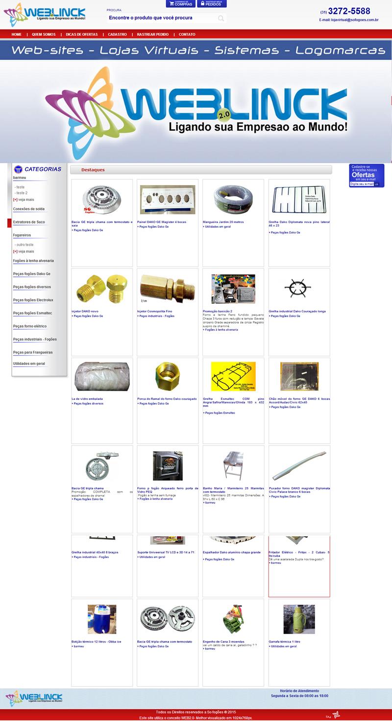 Loja Modelo 6 Abilio machado, lojas virtuais grátis Bh, Alipio de melo comercio, Portal Abilio machado, weblinck, desenvolvimento de sites em bh