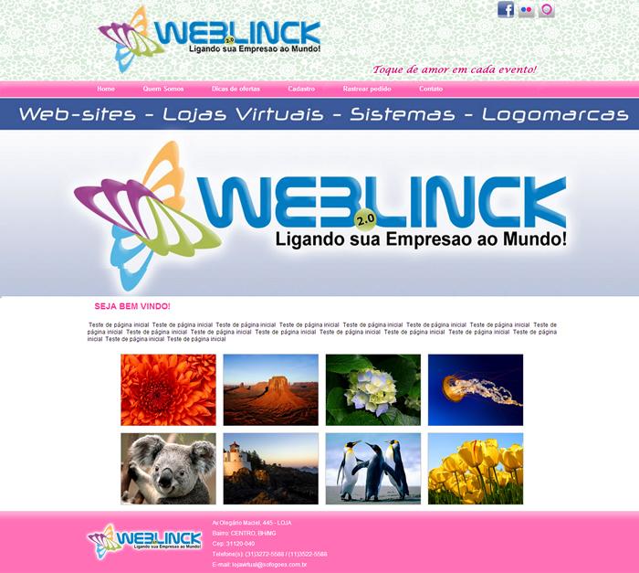 Modelo 01 Abilio machado, websites grátis Bh, Alipio de melo comercio, Portal Abilio machado, weblinck, desenvolvimento de sites em bh