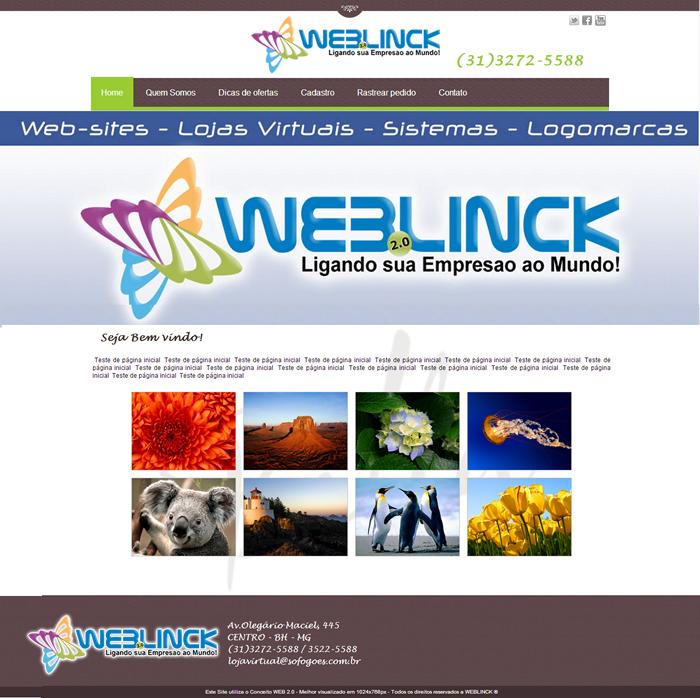 Modelo 02 Abilio machado, websites grátis Bh, Alipio de melo comercio, Portal Abilio machado, weblinck, desenvolvimento de sites em bh