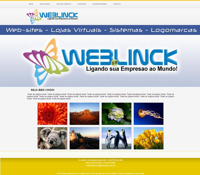 Modelo 04 Abilio machado, websites grátis Bh, Alipio de melo comercio, Portal Abilio machado, weblinck, desenvolvimento de sites em bh