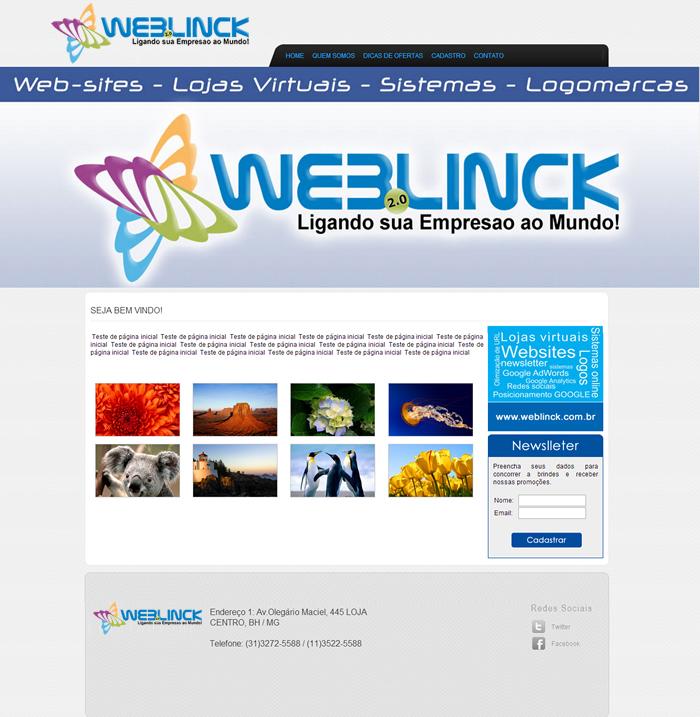 Modelo 09 Abilio machado, websites grátis Bh, Alipio de melo comercio, Portal Abilio machado, weblinck, desenvolvimento de sites em bh